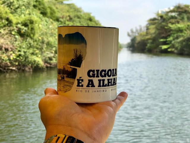 Lagoa da Tijuca - A caminho da Ilha da Gigóia