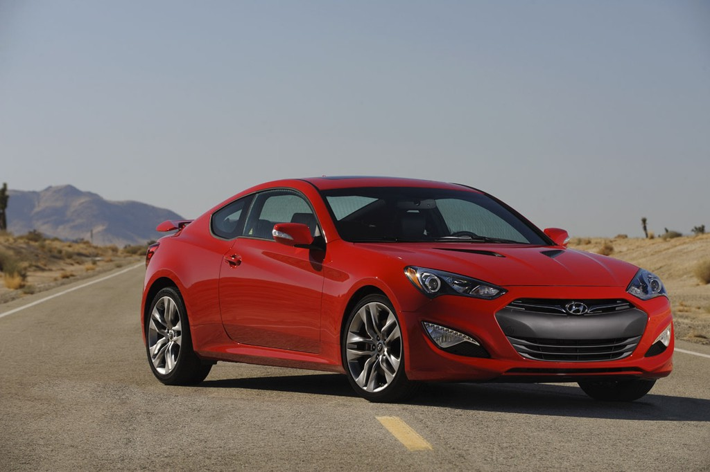 Hyundai Debuts More Powerful Genesis Coupe Veloster