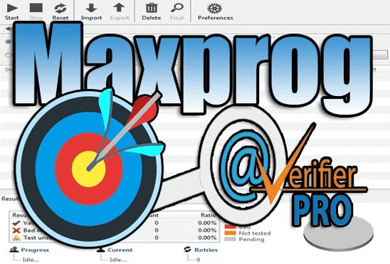 تحميل وتفعيل برنامج Maxprog eMail Verifier للتحقق من الايميلات للتسويق الالكتروني