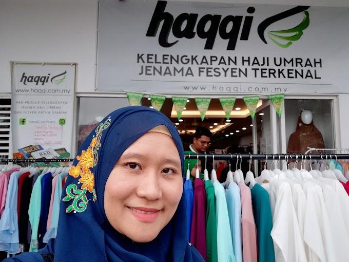 Baju Raya 2018 dari Butik Haqqi !