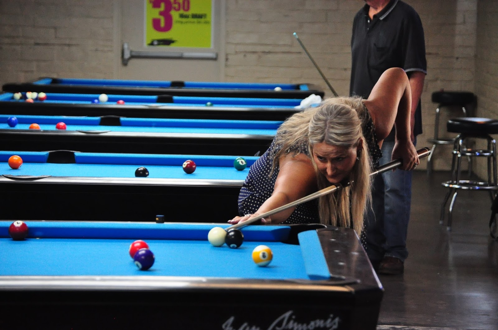 Pool is a journey got a little table time in for Koi pool cue