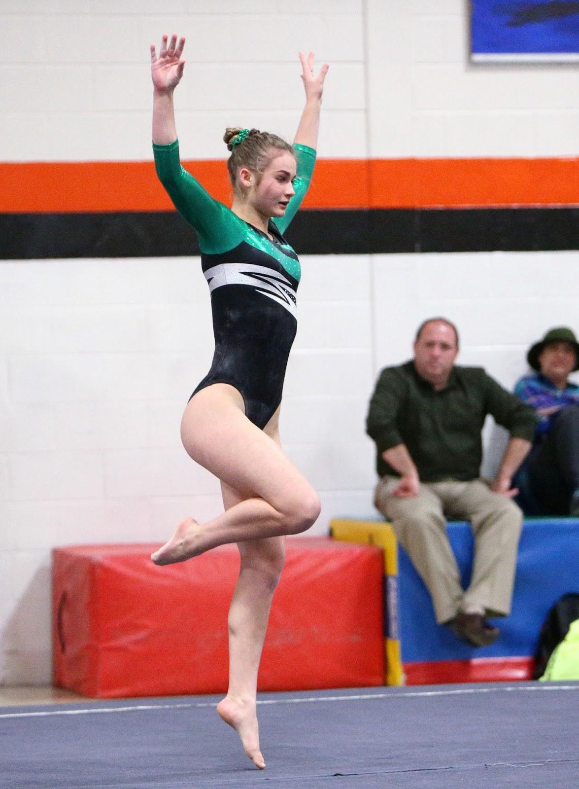 Mark Kodiak Ukena Ihsa Varsity Girls Gymnastics