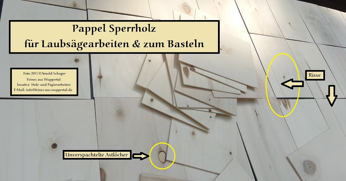 Pappel Sperrholz Für Laubsägearbeiten U0026 Zum Basteln Aus Dem Baumarkt |  Laubsägen Und Holzwerken An Schulen
