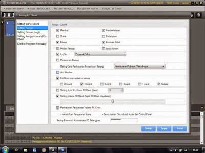 Cara Setting dan Ubah Password User Admin di Smart Billing Terbaru