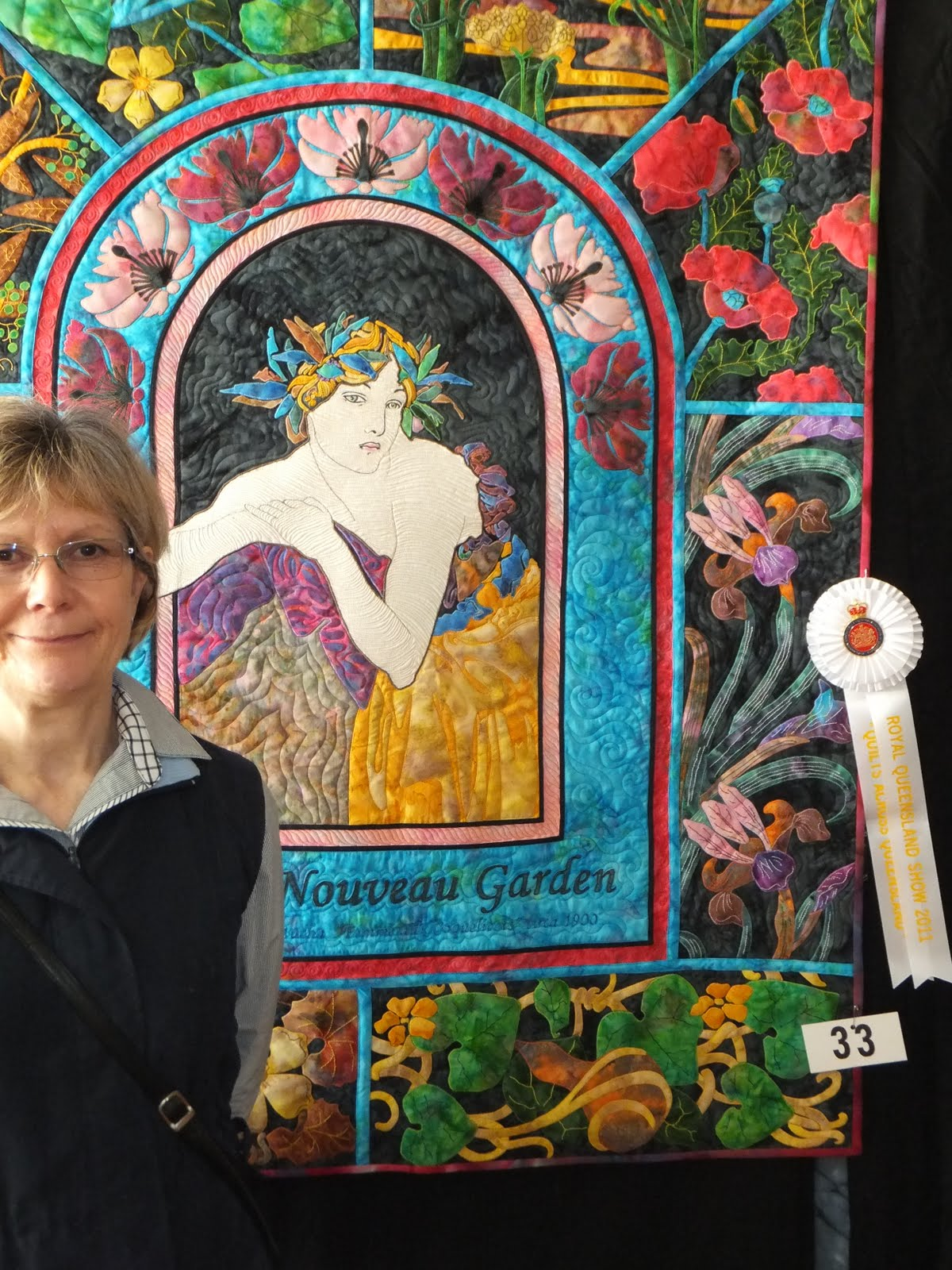 Koolkat's Quilting Blog: Kathy Wins A Place At Brisbane