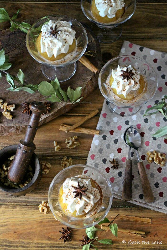 tufahije, bosnian-apple-dessert, postre-de-manzana-bosnio