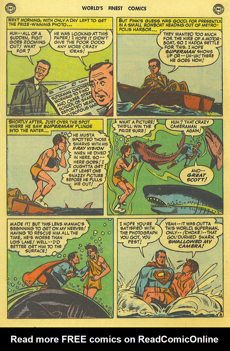 Read online World's Finest Comics comic -  Issue #49 - 11