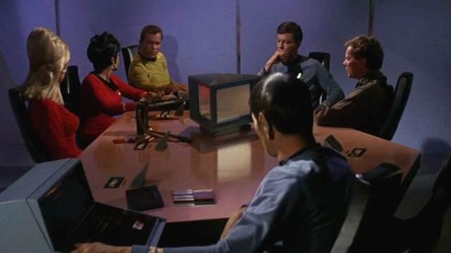 Em 'Star Trek' os computadores pessoais eram parte do cotidiano dos personagens. Foto: CBS, GettyImage