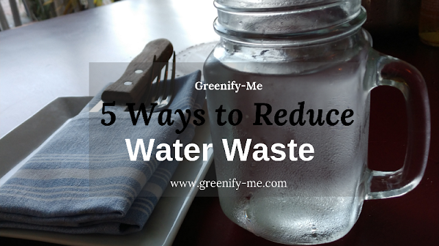 reduce water waste