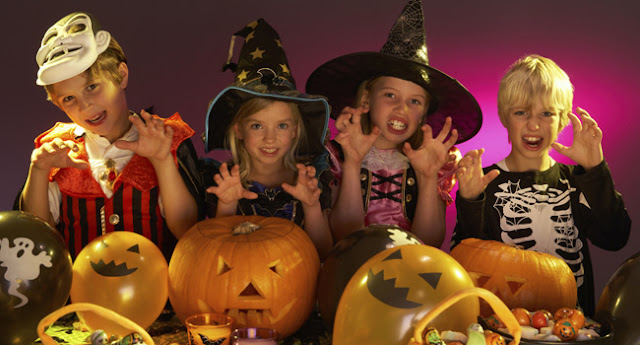 fiestas infantiles halloween Normandia