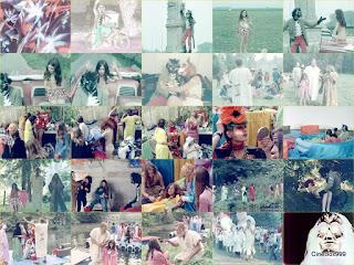 Le grand départ / The Big Departure. 1972. Inverted chroma version.