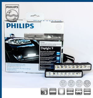 Philips LED DRL DayLight 9 | Universal Daytime Running Lights | 100 GENUINE!