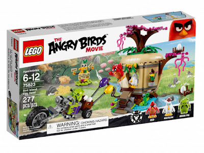 TOYS : JUGUETES - LEGO Angry Birds  75823 Asalto a la Isla de los Pájaros  Bird Island Egg Heist  2016 | La Película - Movie | Piezas: 277 | Edad: 6-12 años  Comprar en Amazon España & buy Amazon USA