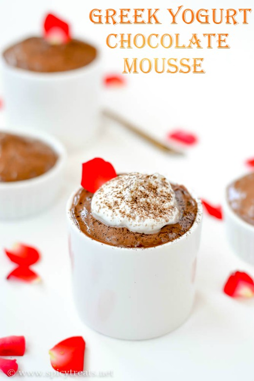 GreekYogurt Chocolate Mousse Recipe