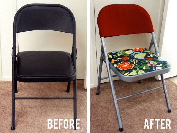 Folding Chair Covers Walmart Patio Replacement Cushions Twinkle And Twine: Diy: Makeover