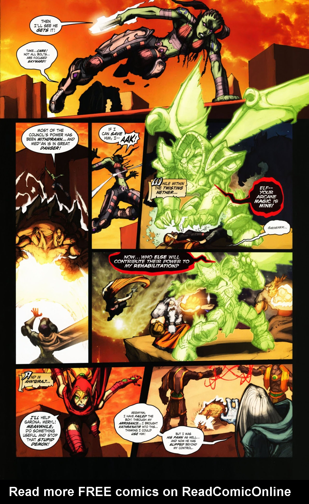 Read online World of Warcraft comic -  Issue #25 - 30
