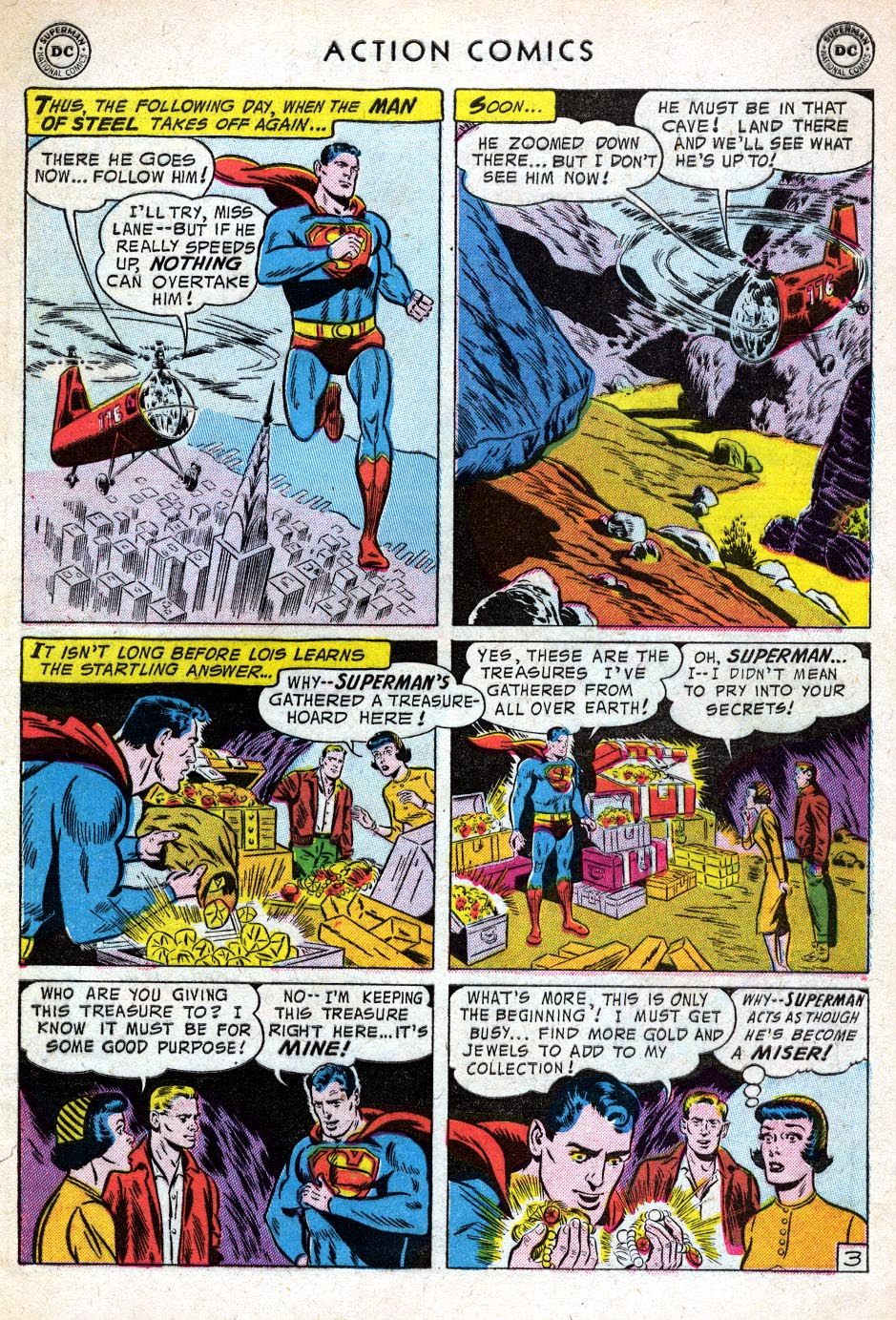Read online Action Comics (1938) comic -  Issue #219 - 5