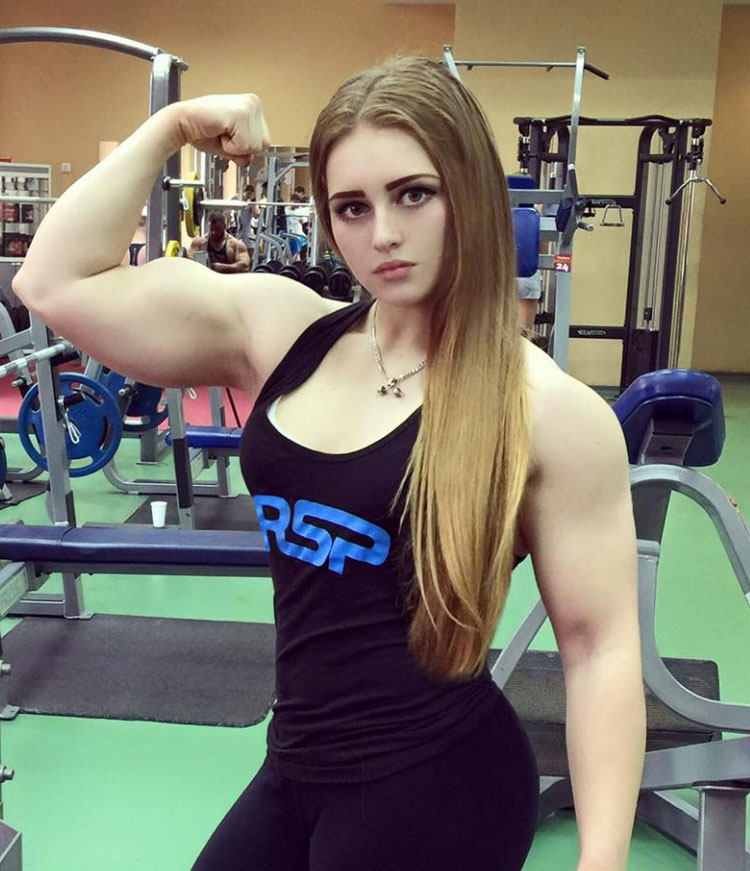 Muscle Barbie Julia Vins body building and weight lifter from Russia, Real life wonder women on Todays Salt