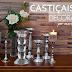 Castiçais na decoração - veja dicas de como usá-los e modelos lindos da Maria Pia Casa!