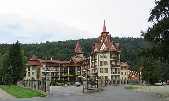 "Hotel ""Карпатские зори""."