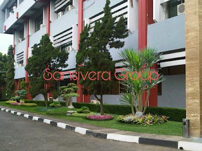 Desain Landscape Taman Kantor