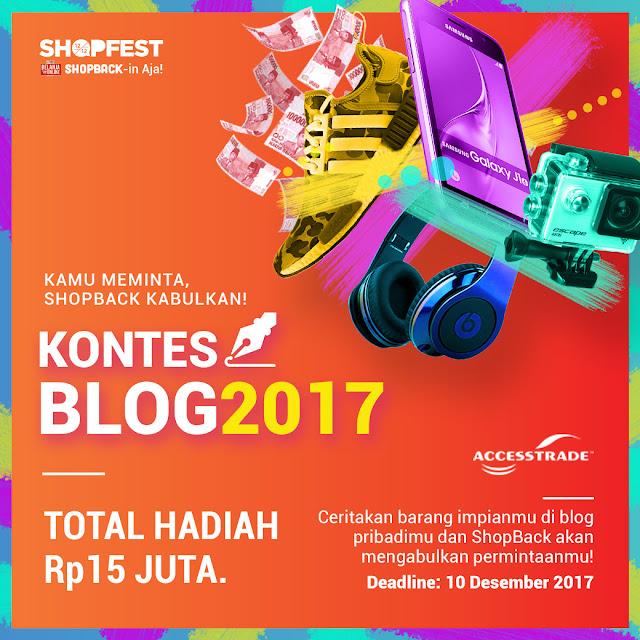 Pemenang Kontes Blog ShopBack 2017