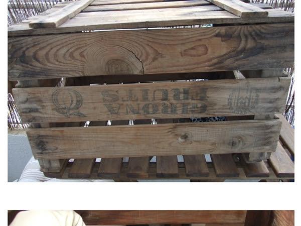 DIY, renovar una antigua caja de fruta