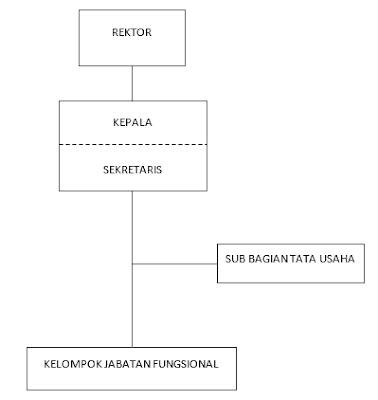 Struktur Organisasi UPT Teknologi Informasi dan Komunikasi Universitas Tanjungpura