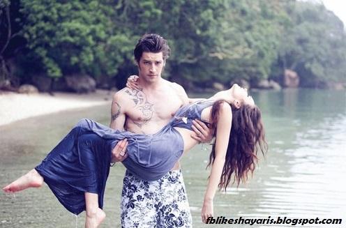{ हिंदी में प्यार भरी शायरी }  -  Girlfriend Ko Manane Ki Hindi Shayari