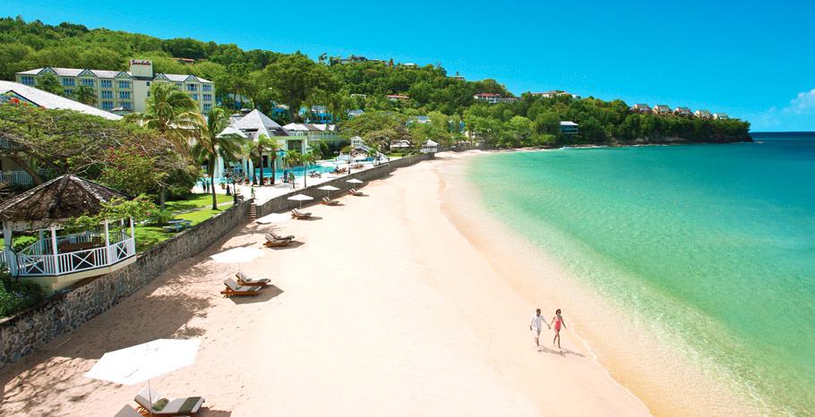 Sandals St Lucia La Toc Luxurious Escapes Blog