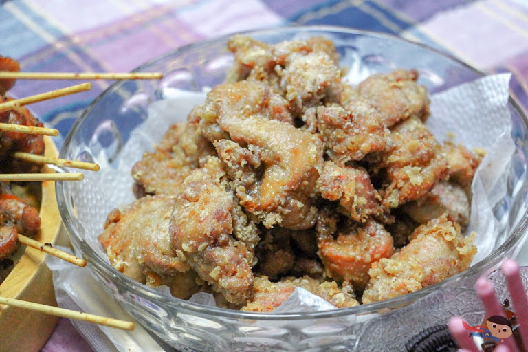 Home-cooked Chicken karaage