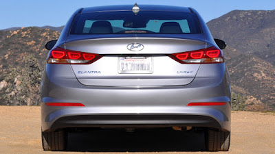 New 2017 Hyundai Elantra rear view  Hd Photos