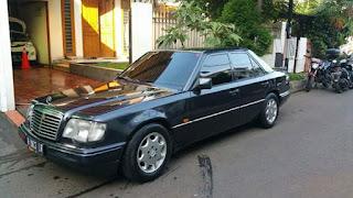 W124 E220 AT tahun 1996 sertifikat MP
