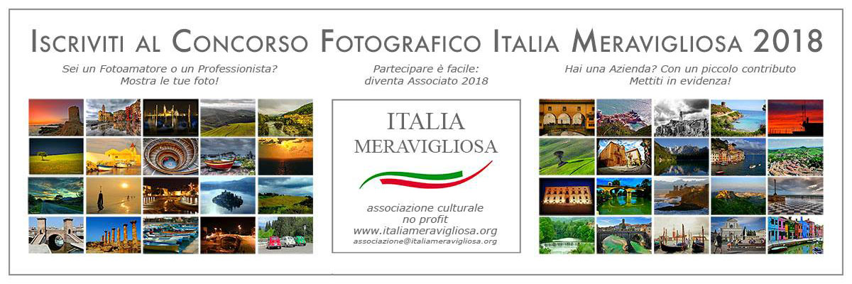 Fotocontest Italia Meravigliosa 2018