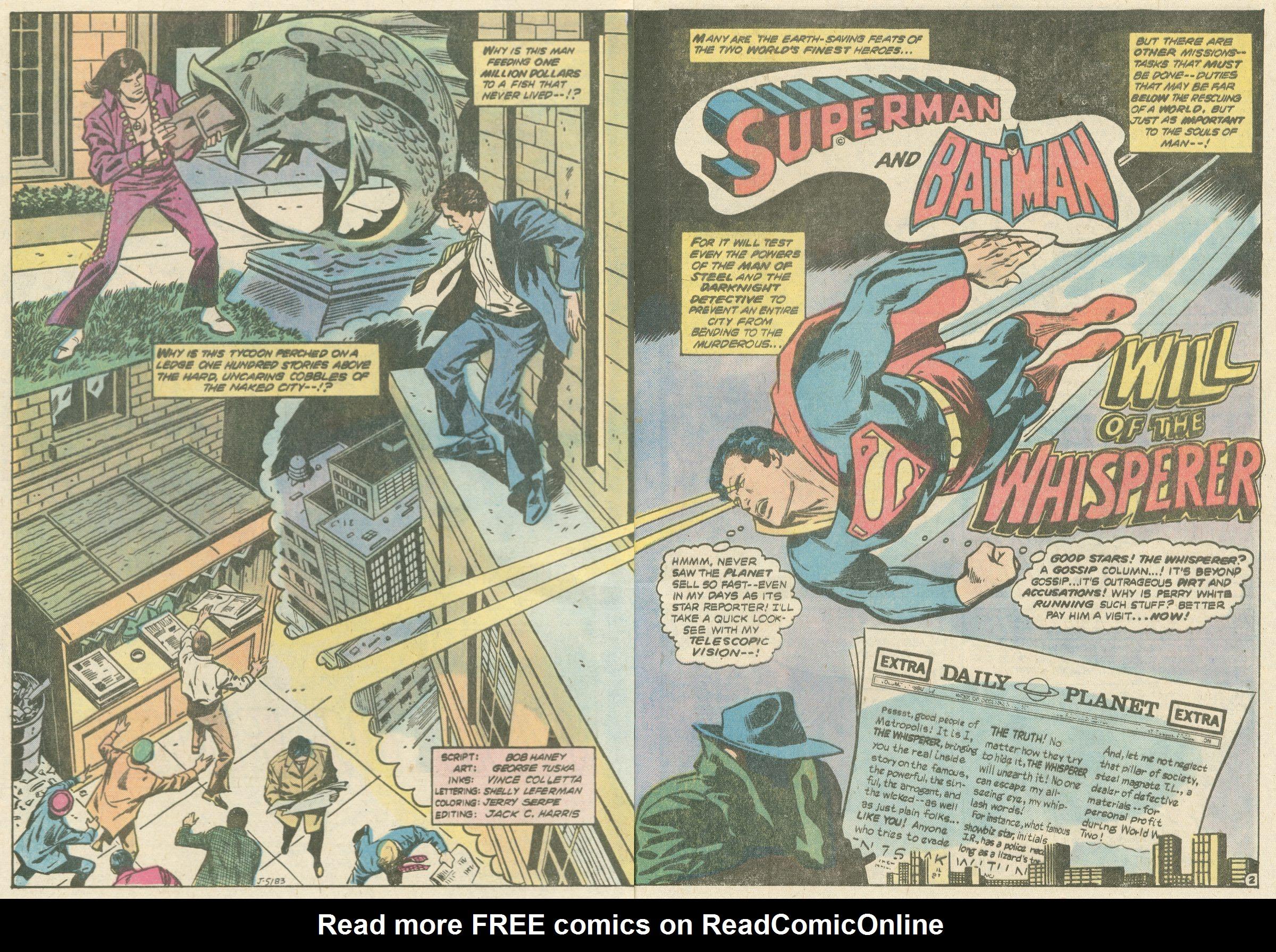 Read online World's Finest Comics comic -  Issue #252 - 4