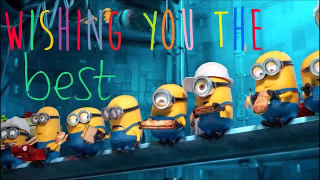 HD happy birthday minions