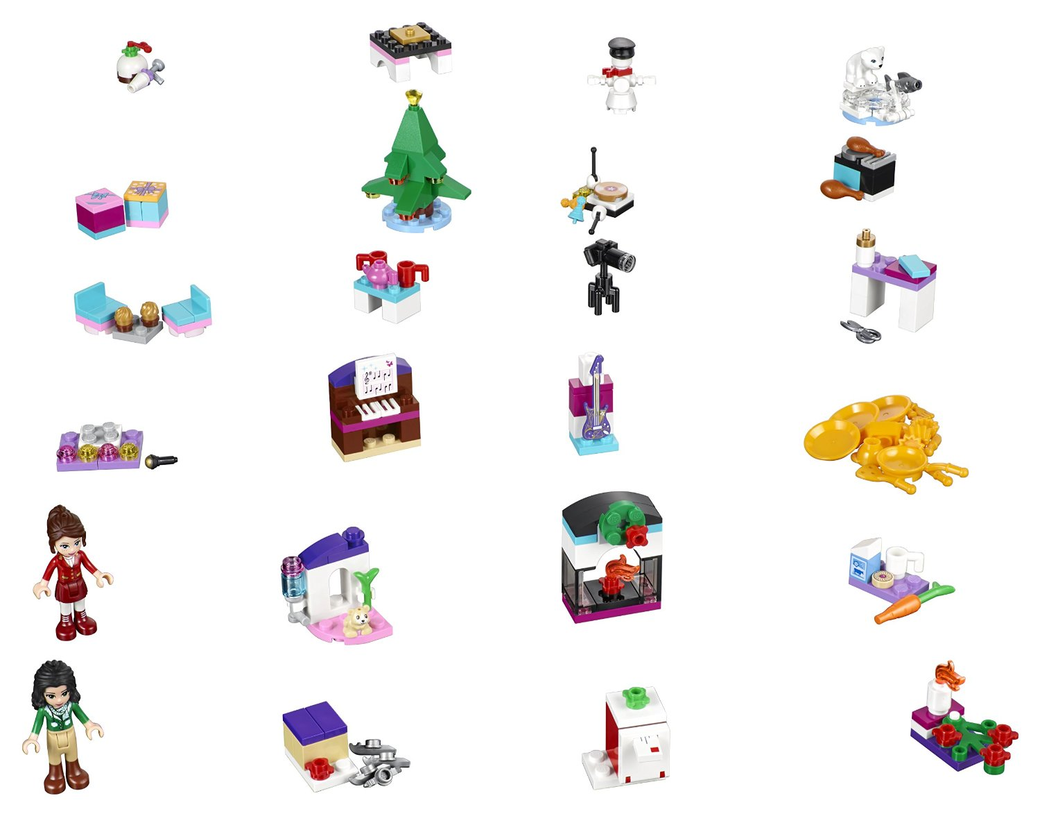 Heartlake Times: LEGO Friends Advent Calendar 2016