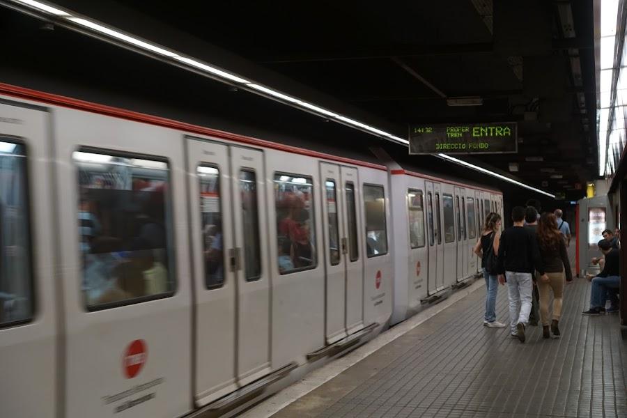 地下鉄「サン・アンドリュー(Sant Andreu)」