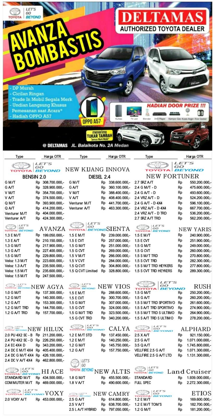 Toyota Deltamas Medan Booking Fee New Agya Trd A T Giias 2018 Pesta Akhir Tahun Deltmas