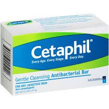 Cetaphil antibacterial gentle cleansing bar for sensitive skin