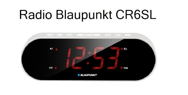 Radio watch Blaupunkt CR6SL specs