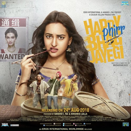 Watch Online Happy Phirr Bhag Jayegi 2018 Full Movie Download HD Small Size 720P 700MB HEVC HDRip Via Resumable One Click Single Direct Links High Speed At WorldFree4u.Com