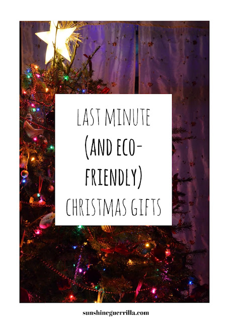 Last Minute Eco-Friendly and Zero Waste Christmas Gifts
