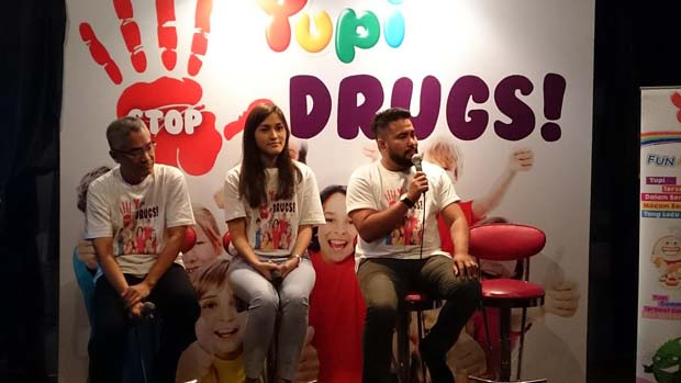 Yupi Ajak Anak-anak dan Remaja Waspadai Narkoba