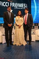 Madhuri Dixit Nene in designer Anarkali Dress at FICCI Awards 2017 018.JPG