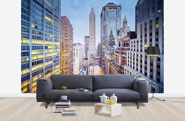 Maisematapetti New York 3d Tapetti