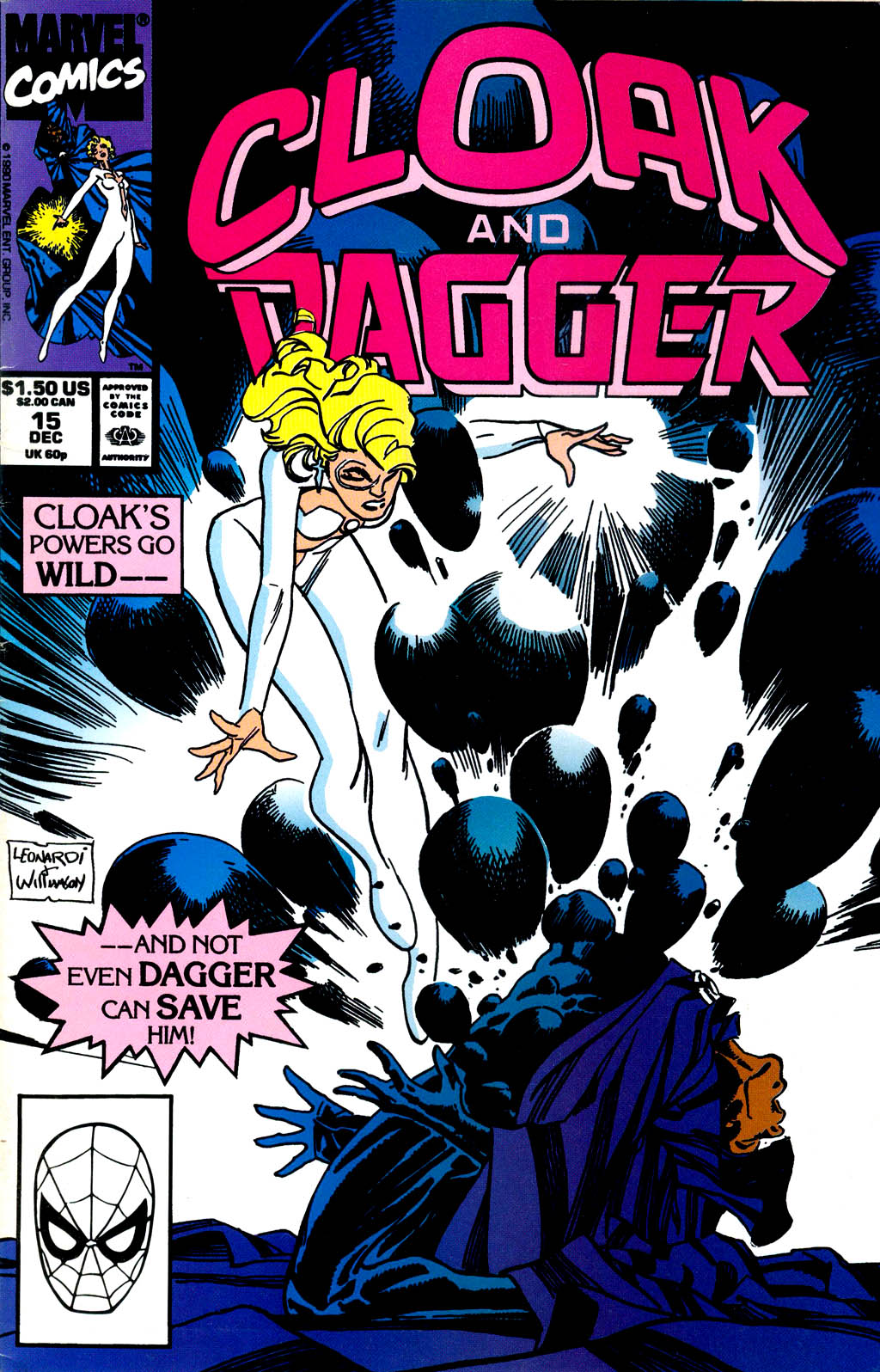 Cloak and Dagger (1990) 15 Page 1