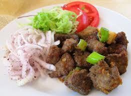 Albanian Style Fried Liver (Arnavut Cigeri)