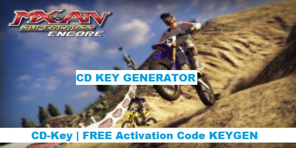 MX vs. ATV Supercross Encore free steam code
