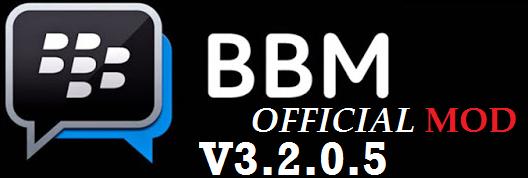 BBM Official MOD V3.2.0.5 Apk Update